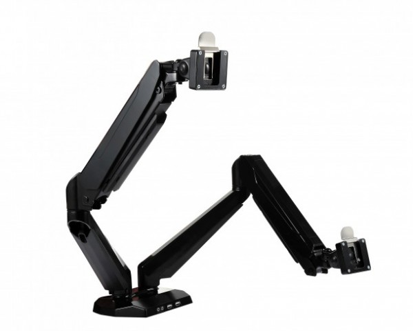 Introduction of the ergonomic single and dual monitor arms